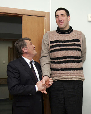 Leonid Stadnik, the world's tallest man