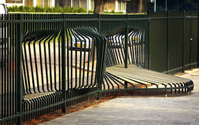fence in the playground