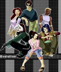 PERSONAJES DE X-MEN EVOLUCIÓN