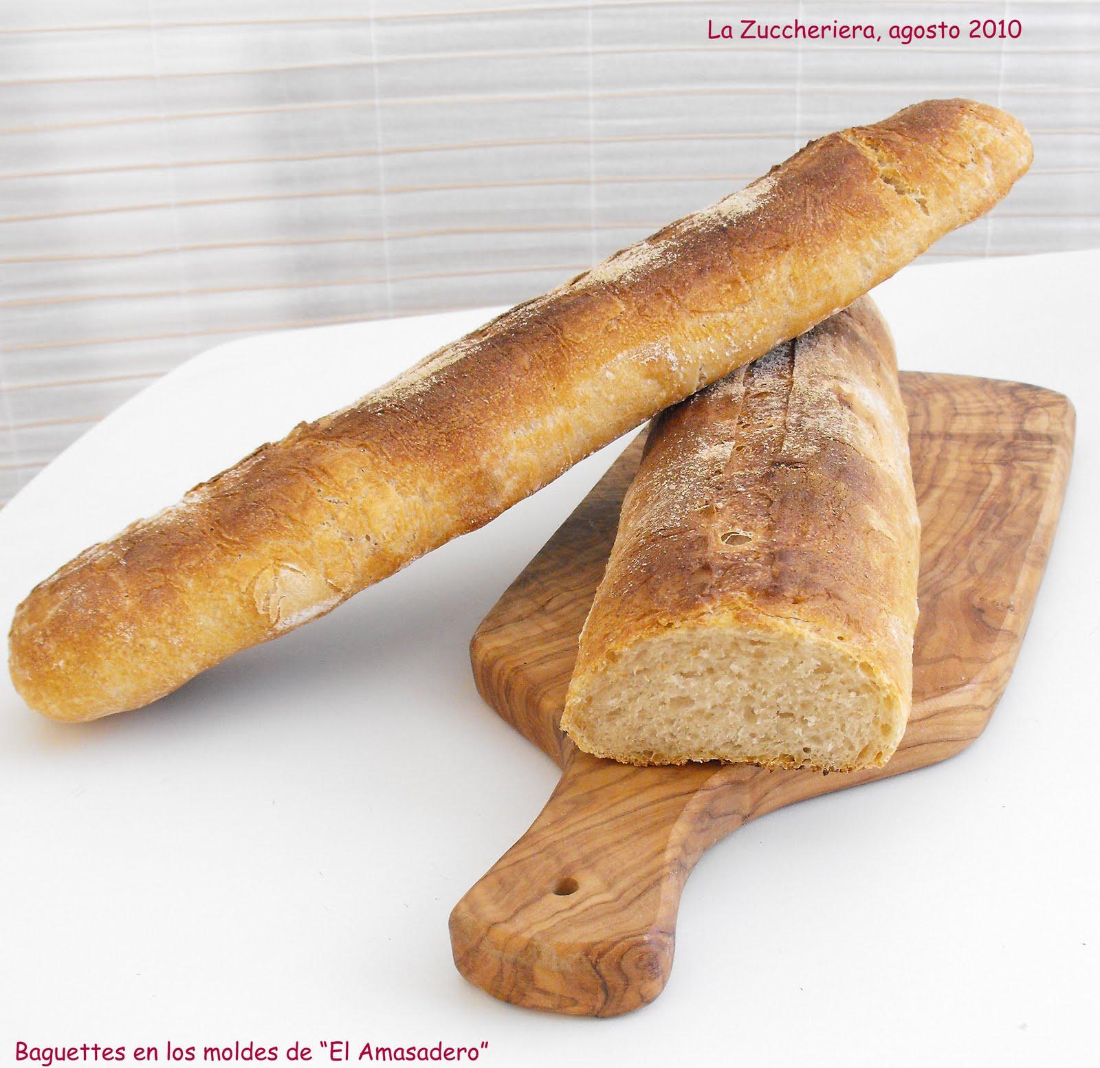 Pane e pizza las baguettes en los moldes de el amasadero - El amasadero ...