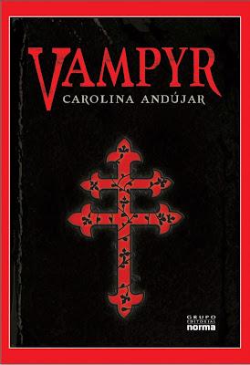 Vampyr de Carolina Andujar Invitaci%C3%B3n+Vampyr