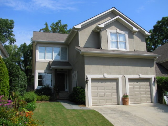 Atlanta real estate and home improvement news stucco - Exterior paint coverage on stucco ...