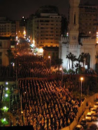 SOLAT TERAWIH DI ALEXANDRIA