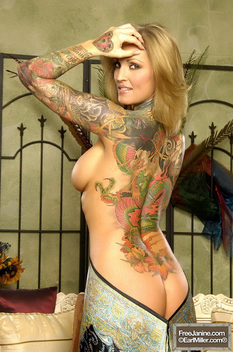 Janine lindemulder nude contacts Once
