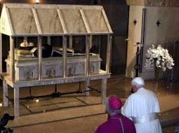 Veneración del Papa a San Pío