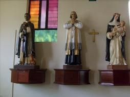 San Juan Maria Vianney, con nuestros Santos Limeños