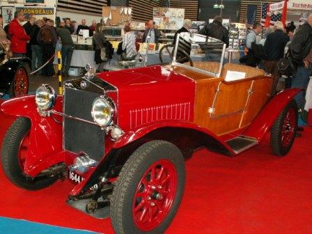 1926 Fiat 512 Torpedo. Fiat 509 à Epoqu#39;Auto