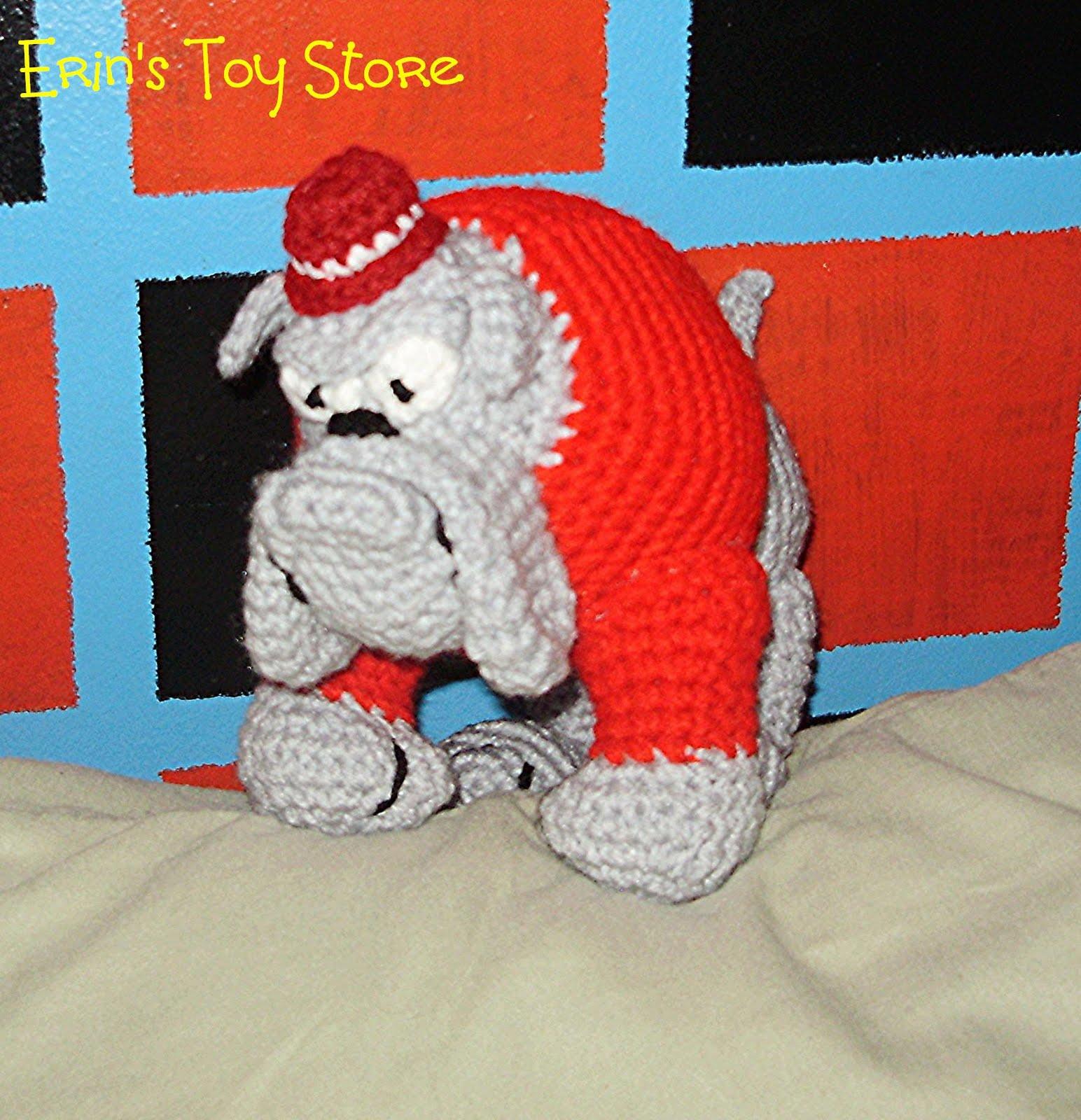 Free Pattern For Crochet Bulldog : BULLDOG CROCHET PATTERN Crochet Patterns
