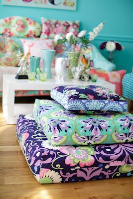 Full vår med tekstiler fra Amy Butler!
