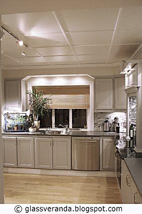 Glassveranda: kjøkken   12 m²