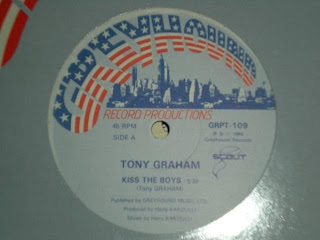 Tony Graham - Kiss The Boys (1984)
