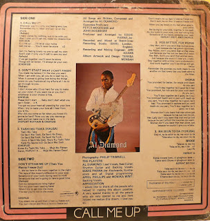 Al Diamond - Call Me Up (1983) Full LP