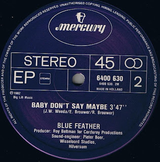 Blue Feather - Baby Don't Say Maybe; from the LP Feather Funk (1982)