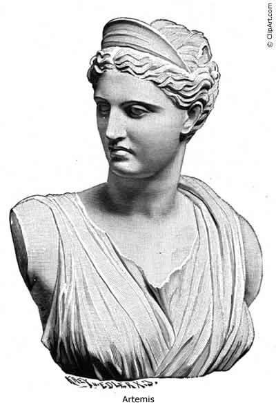 Artemis Greek Goddess Of The Hunt