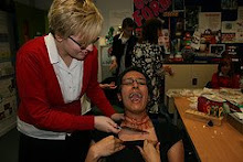 Year 10 Media Horror Make-up Workshop