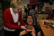 Year 10 Media Horror Make-up Workshop