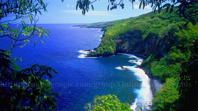 End of the road to Hana