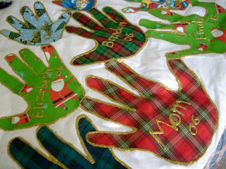 Christmas tree skirt craft
