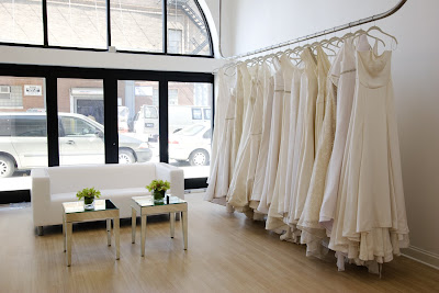Fashion Boutique Interior on Runway To Retail  Michelle Rahn Opens Bridal Salon
