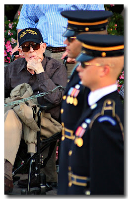 Pearl Harbor Survivor at Arlington National Cemetery