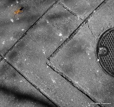 Sidewalk Abstracat - Portland Street, Baltimore MD