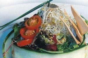 ensalada mixta de germinados
