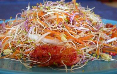 ensalada germinados