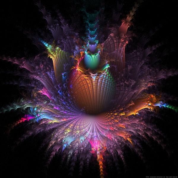 Fleur Dapo fractal art