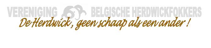 Oorspronkelijke site VERENIGING VAN BELGISCHE HERDWICKFOKKERS