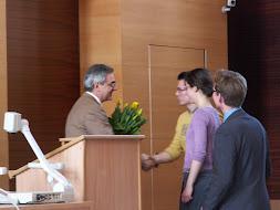 Spotkanie z prof. Garofalo z Uniwersytetu w Padwie