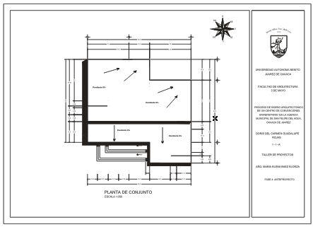 Proceso de dise o arquitect nico de un centro de for Que es una planta arquitectonica