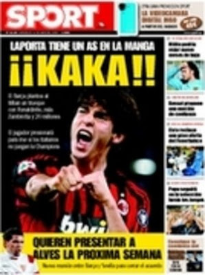 La aficion cule preferia a Mou antes que a Guardiola en 2008 para sistituir a Rikjaard KAKA+SPORT