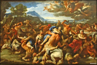 Battle of the Lapiths and the Centaurs by Luca Giordana