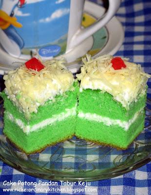 Cake Pandan Keju Ricke