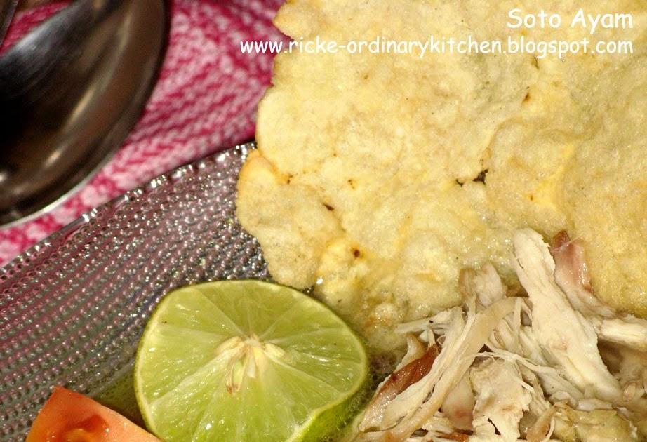 just my ordinary kitchen soto ayam