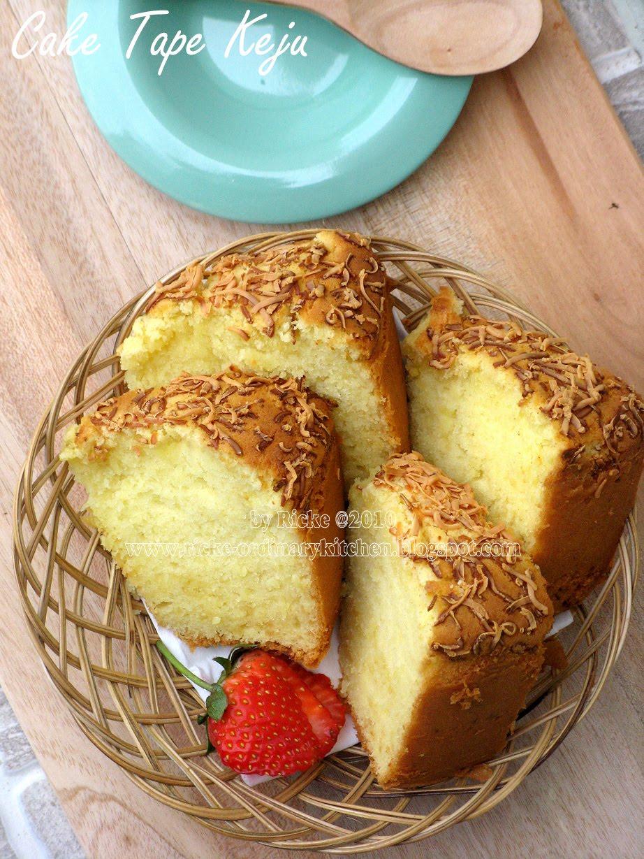 Resep Marmer Cake Spesial Keju