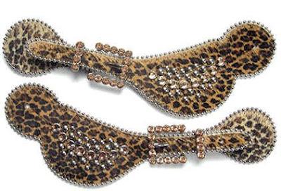 Leopard spur straps