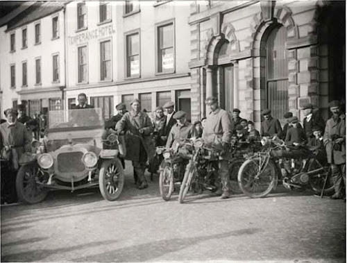 Temperance Hotel Bikers c1920