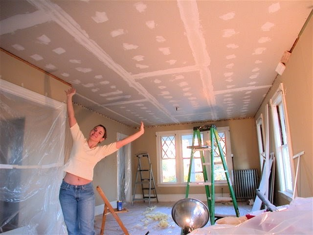 Best Drywall Tape : Dover projects how to drywall a ceiling