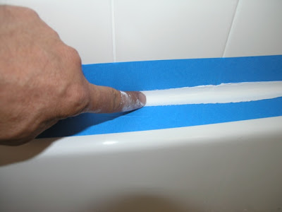 How To Caulk A Bathroom Dover Projects How To Caulk A Bathtub