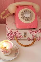 Telefone rosa