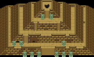 Пирамиды в игре Zelda