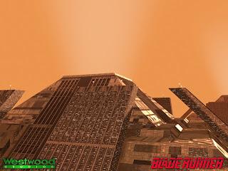 Пирамиды в игре Blade Runner