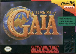 игра snes Illusion of Gaia