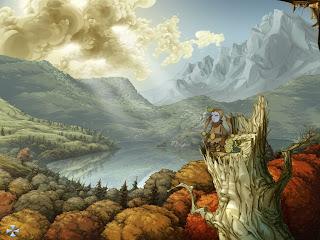 игра Ускользающий мир, Whispered World, в жанре квест