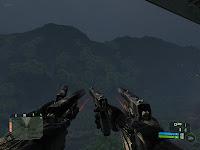 прикол в игре Crysis