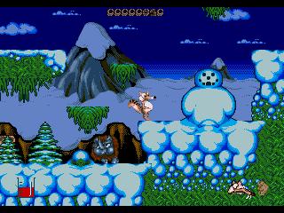 Снеговик в играх