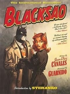 Герой комиксов - антропоморфный кот Blacksad (Блэксад)