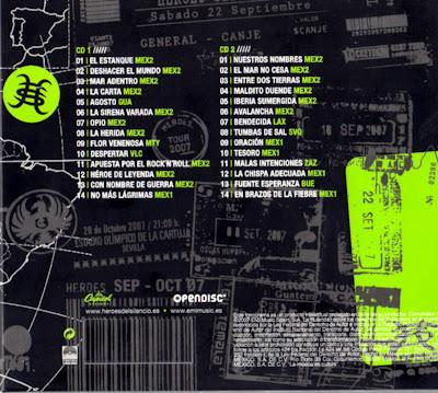 Heroes+del+Silencio+ +Tour+2007+ Detras Heroes del Silencio (16 CD`s) (CL)