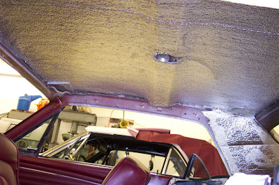 Virginia Classic Mustang Blog: Installing Insulation ...